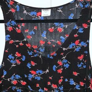 Free People Tops - FREE PEOPLE floral tank top